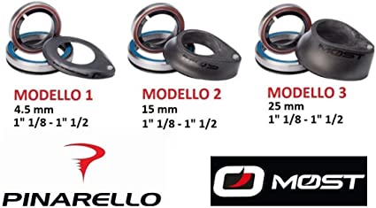 "Headset bicycle carbon Pinarello Most Bike 1/"" 1//8-1/"" 1//2"