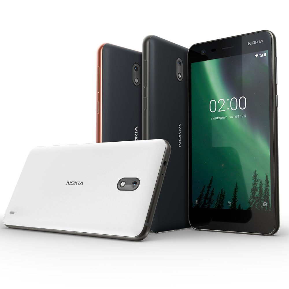 Nokia 2 - Android - 8GB - Dual SIM Unlocked Smartphone (AT&T/T-Mobile/MetroPCS/Cricket/H2O) - 5'' Screen - Black - U.S. Warranty by Nokia mobile (Image #5)