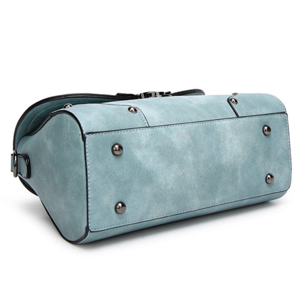 QQWE Fashion Printing Damen Handtasche Handtasche Handtasche Vintage Schulter Crossbody Tasche Damen Tote Geldbörse Umhängetasche B07DPPD8C9 Umhngetaschen Niedriger Preis d7ffee