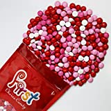 m&m Valentine Mix Milk Chocolate Candy 1 Pound Resealable Gift Bag