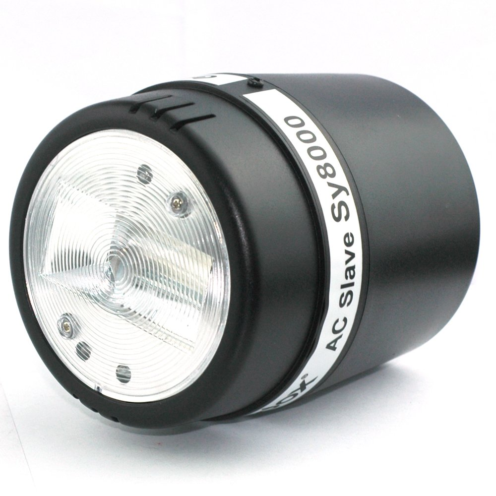 Yunchenghe Godox SY8000 Photo Studio Strobe Light AC Slave Flash Bulb 110V-120V for Photography