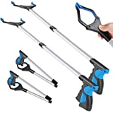 """2 Pack-Grabber Reacher Tool for Elderly, 32"""" Foldable Reaching Claw Grabber, Reacher Grabber Pickup Tool, Trash Gripper…"""