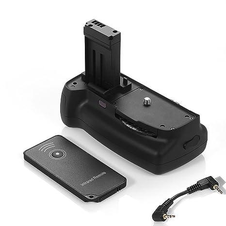 Empuñadura de batería para Canon EOS 100d Rebel SL1 beso X7 Cámara ...