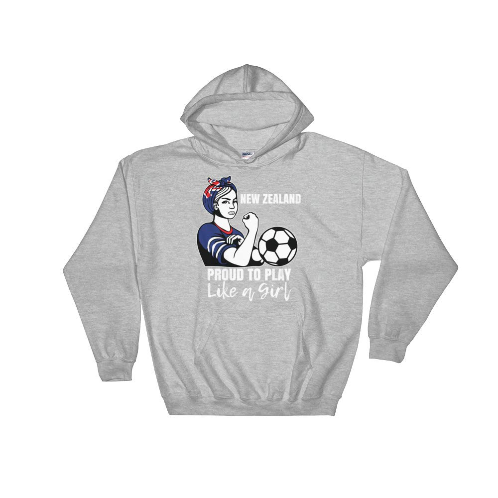 Amazingly Good Products New Zealand Womens Soccer Kit France 2019 Girls Unisex Hooded Sweatshirt