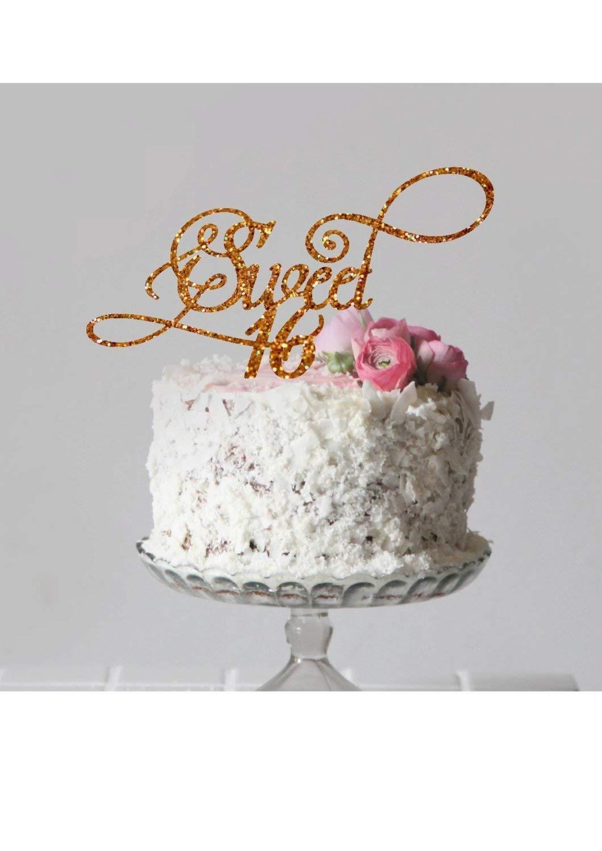 Amazon Sweet 16 Cake Topper Happy Birthday