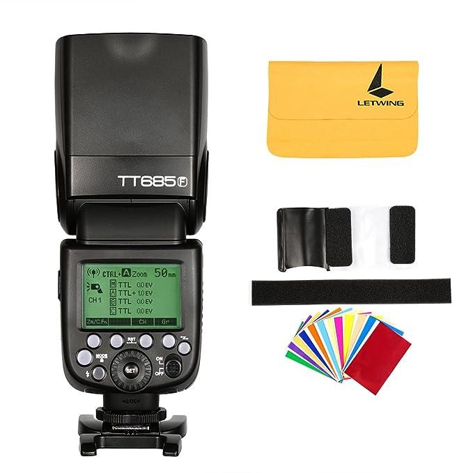 4 opinioni per Godox TT685F 2.4G TTL HSS 1/8000s GN60 para Fujifilm Camera Fuji X-Pro1 x-t20