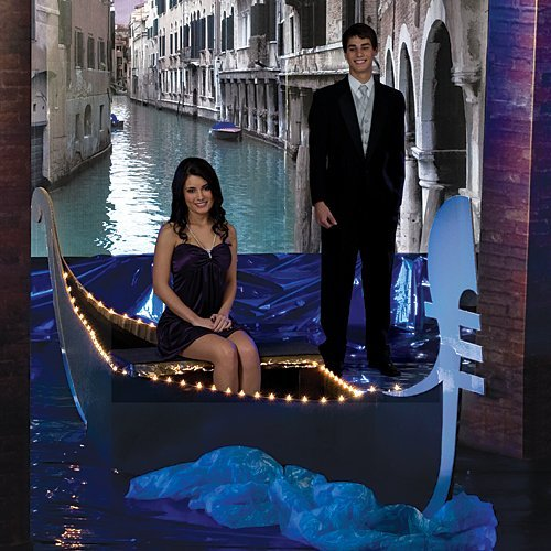 Venetian Sky Gondola Party Prop Standup Photo Booth Prop Background Backdrop Party Decoration Decor Scene Setter Cardboard Cutout