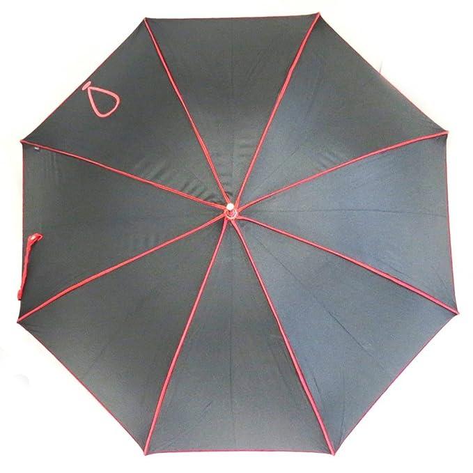 Paraguas de caña Joy Heartrojo negro (signo de exclamación).: Amazon.es: Equipaje