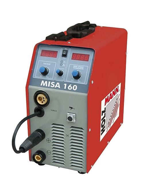 De madera de hombre MIG/MAG Inverter de soldadura sistema de Misa ...