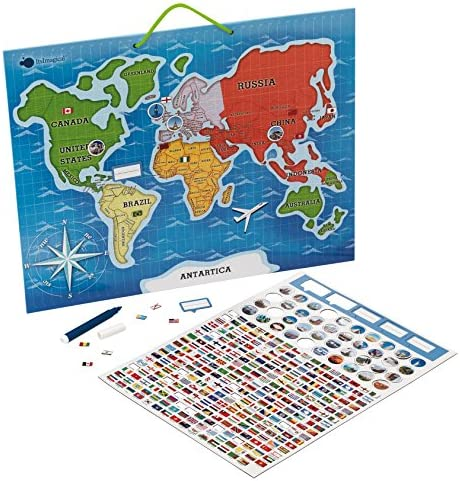 itsImagical - Mapamundi magnético para niños (Imaginarium 58698): Amazon.es: Juguetes y juegos