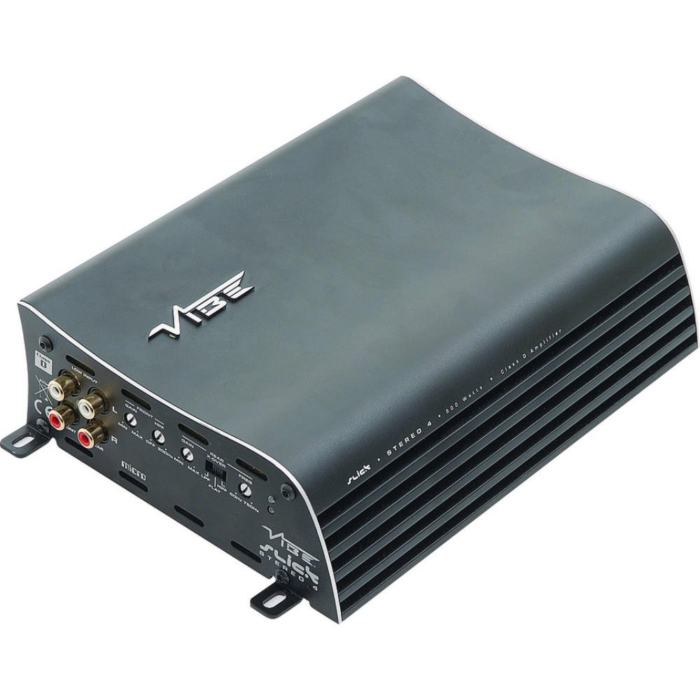 Super Sound Quality Brand New for 2012 VIBE Slick Stereo 4 4//3//2 Channel Amplifier
