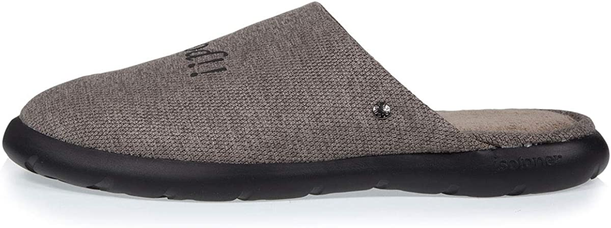 Isotoner Chaussons Mules Feel Good Homme