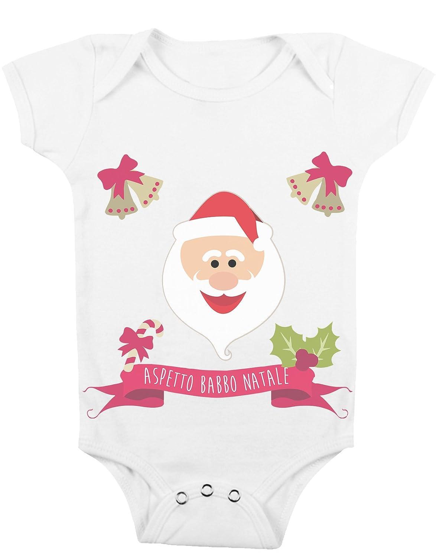 Body da neonato Aspetto Babbo Natale - Da 3 a 24 mesi by tshirteria t-shirteria