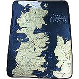 """Game of Thrones Map 46"""" x 60"""" Fleece Throw Blanket"""