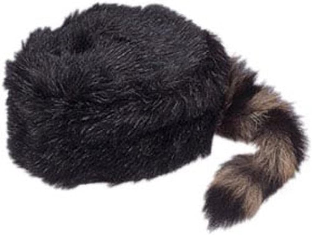 MOUNTAINEER COONSKIN CAP made popular by Davey Crocket X-Large
