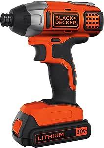 BLACK+DECKER 20V MAX Impact Driver Kit (BDCI20C)
