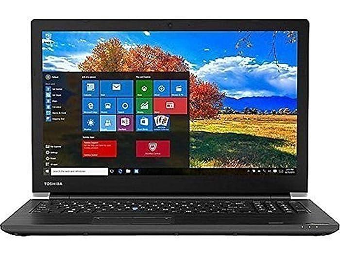 "2019 TOSHIBA Tecra A50-E 15.6"" Business Laptop Computer, 8th Gen Quad-Core i7-8550U up to 4.0GHz, 12GB DDR4 RAM, 256GB SSD, DVDRW, 802.11ac WiFi, Bluetooth, HDMI, USB 3.0, Windows 10 Professional"