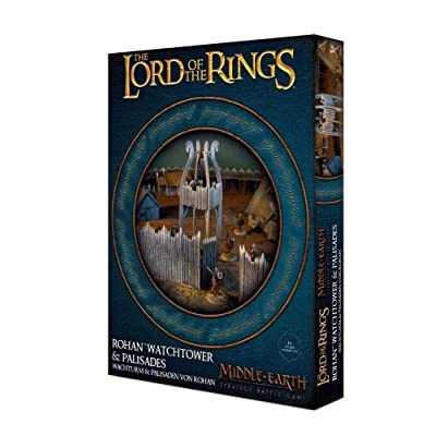 Games Workshop Middle Earth Strategy Battle Game: Rohan Watchtower & Palisades: Toys & Games