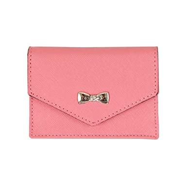 Womens genuine leather name card holder card case cute business womens genuine leather name card holder card case cute business card wallet indi pink colourmoves