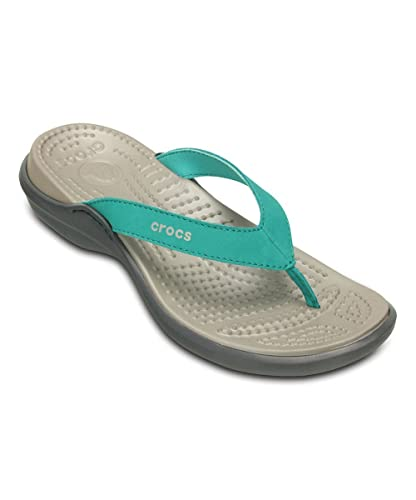 90134d6a59cdb crocs Women s Capri IV Flip-Flop  Amazon.co.uk  Shoes   Bags