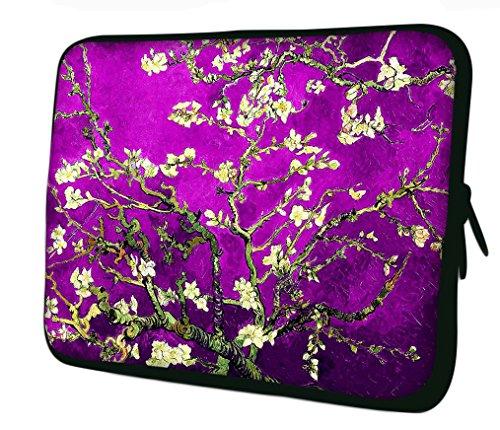 Flower Men's Ornament Purple Shoulder Ektor Bag wIqdUUf