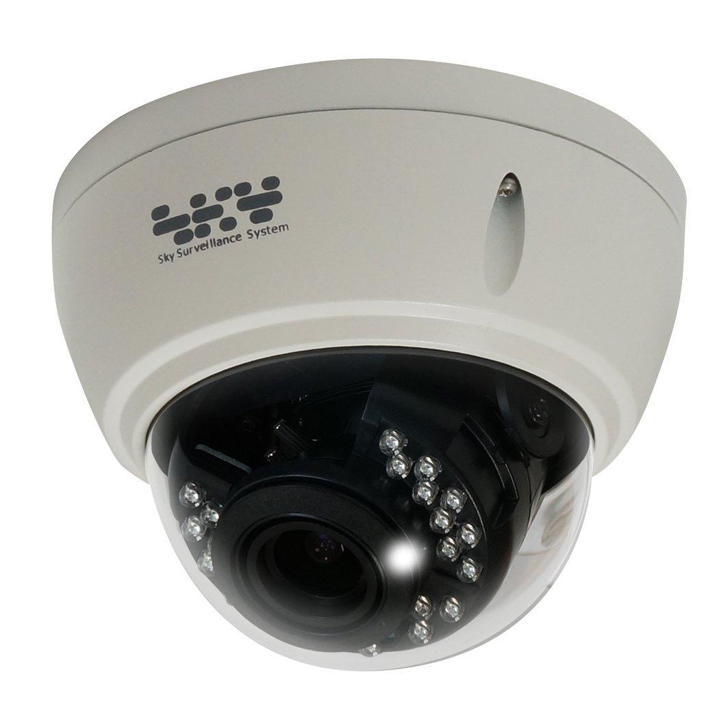 AHD 200万画素 ドーム型 耐衝撃 バリフォーカル 防犯カメラ 監視カメラ SX-MBA32VR ( 屋外 防水 暗視 ) B01GO43NLI