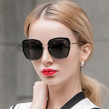 AN Forme Las Gafas de Sol polarizadas de Las Mujeres Grandes ...