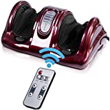 Giantex Shiatsu Foot Massager Machine Massage for Feet, Nerve Pain Therapy Spa Gift Deep Kneading Rolling Massage for…
