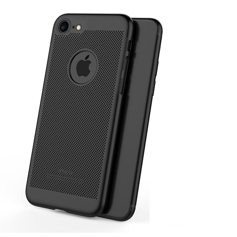 iphone6 Plus/6S Plus case,iphone 5S case,[Heat Dissipation] PC Hard case,Mesh Cooling Cover Case,Non-slip,Anti-fingerprint case,Fully Protective Matt Case Cover for iphone6 Plus/6S Plus OR iphone SE/5
