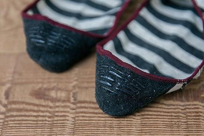 Chaussettes Socquettes Invisible Avec Silicone Anti-D/érapant Par Le Talon taille De 39-43 Pour Homme Lot De 5/&10 Paires