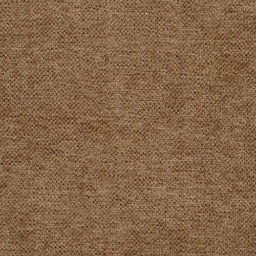 E932 Taupe Woven Soft Crypton Performance Upholstery Fabric by The Yard