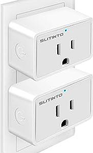 WiFi Smart Plug Works with Alexa Echo/Google Home/IFTTT
