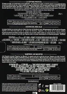 Pack Terror Hallowen 4: La Séptima Profecía / Asesino Del Más Allá / Vampiros: Los Muertos DVD: Amazon.es: Varios: Cine y Series TV