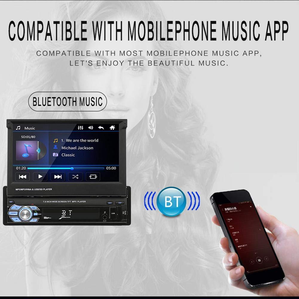 Vdeo Reproductor MP5 para Auto Estreo 7RDS Radio FM FM ...