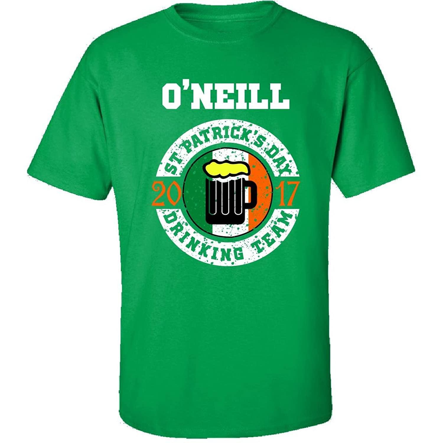 St Patricks Day Oneill 2017 Drinking Team Irish - Adult Shirt