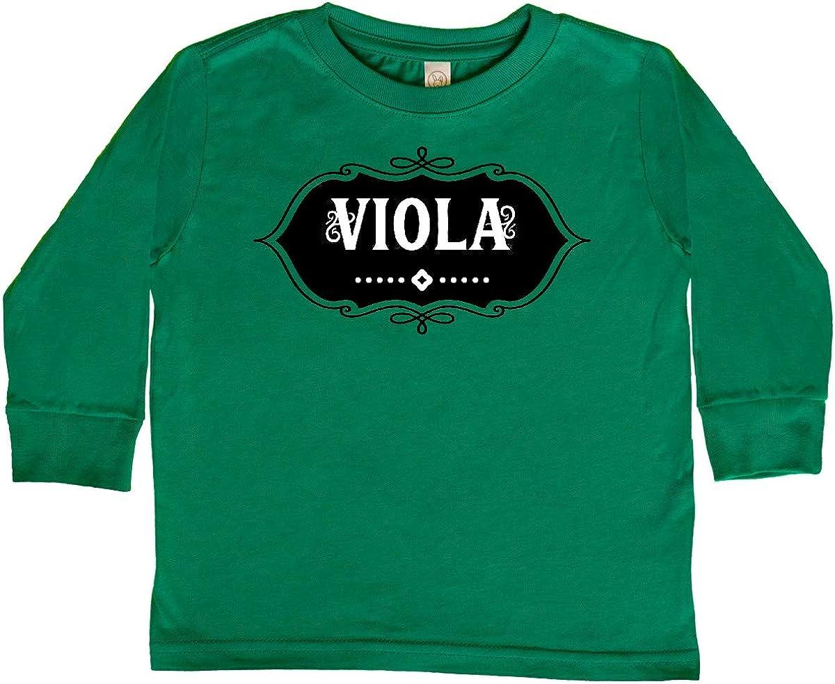 inktastic Viola Emblem Toddler Long Sleeve T-Shirt