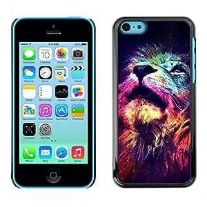 Ziland / Slim Design Case Cover Shel / Deep Universe Space King / Apple iphone 4s