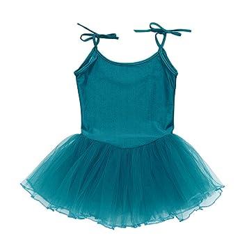 e123cea982ff Zerototens Girl Ballet Dress,Toddler Strap Girl Gauze Leotard ...