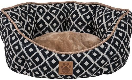 OKSLO Tucker Murphy Pet Maxine Ikat Clamshell Bed