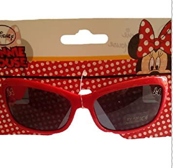 Disney Minnie Mouse Lunettes de soleil à paillettes 3D 7NxiT1b28