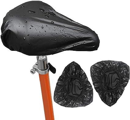 3 Piezas Impermeable Cubre Sillín Bicicleta ,Cubre cojín del ...