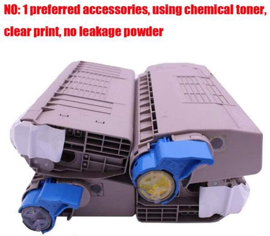4 Colors Original Model 44643004 44643003 44643002 44643001O-4colors Toner CartridgePrinter Consumable Compatible with OKIC810dn Powder Box for OKI C810 C810N C830 C830N Color Laser Printer
