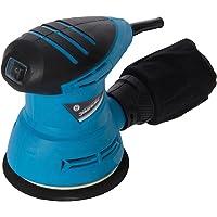 Silverline 870944 Ponceuse orbitale excentrique 125 mm, 240 W, 240 V, Blue