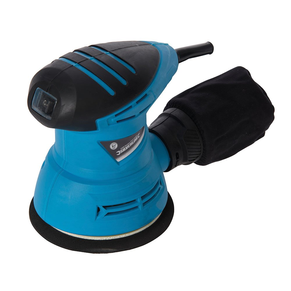 Silverline 870944 - 240W 125mm DIY Random Orbit Sander 230V