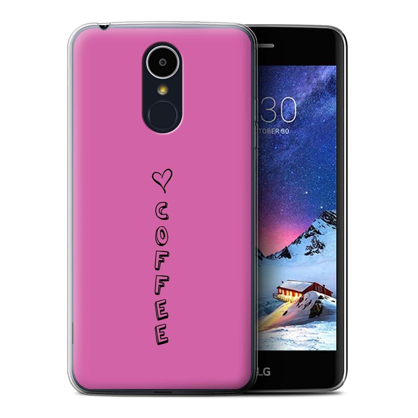 Stuff4® Phone Case/Cover/Skin/LG-gc/corazón XOXO colección Pink ...