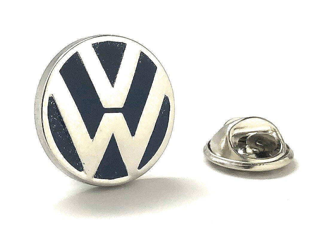 Williams Clark Men's Executive Lapel Pin Volkswagon VW Logo Automobile Famous Car Lapel Pin Tie Tac Williams and Clark