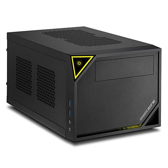 Sharkoon SHARK ZONE C10 - Caja de Ordenador, PC Gaming, MINI-ITX, Negro