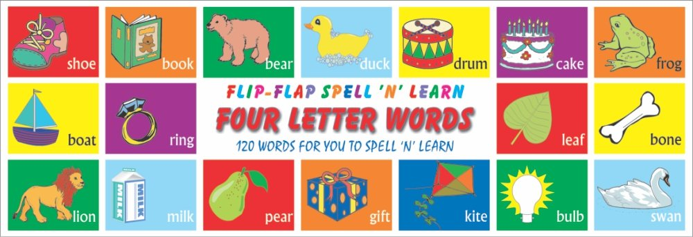 Buy Four Letter Words Flip Flap Book Online At Low Prices In India