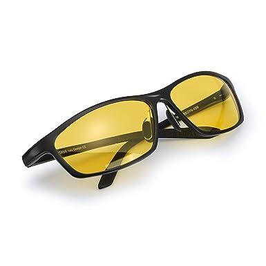 6b0d4a3512 Men s Hot Night Comfortable Driving Polarized Glasses Yellow Lens HD  Sunglasses AL-MG Lightweight (