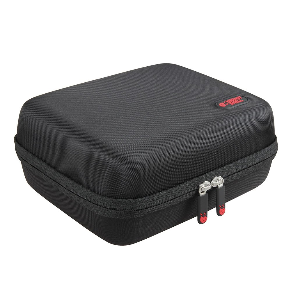 Hard EVA Travel Case for Mlison Video Projector 2000 Lumens Home Cinema Theater Multimedia Projector by Hermitshell